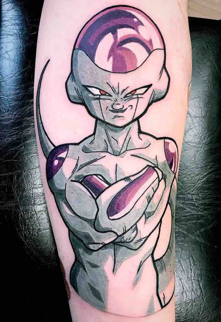 Frieza Tattoo by Rudy Mud