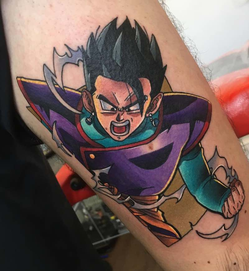 Gohan Tattoo by Andy Walker