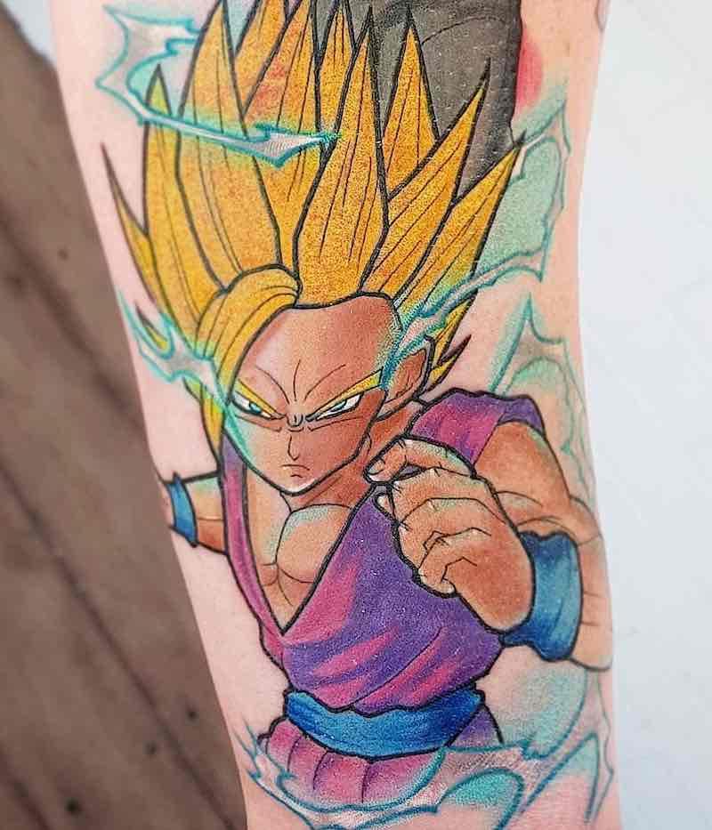 Gohan Tattoo by Luke Pritchard