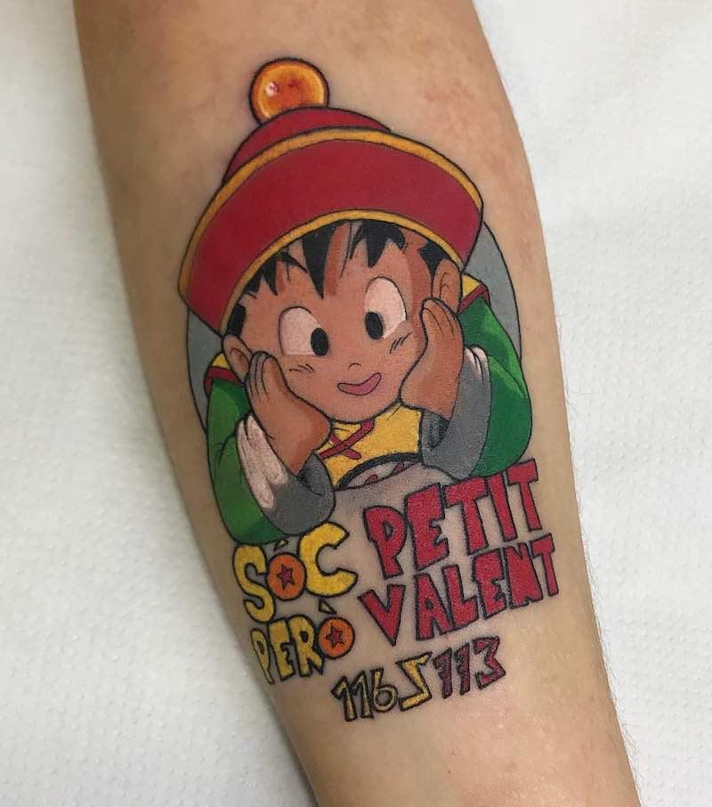 Gohan Tattoo by Raquel Escudero