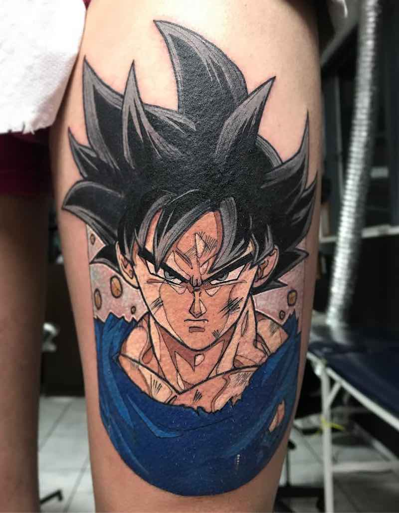 Goku Tattoo by Negative Tattoo