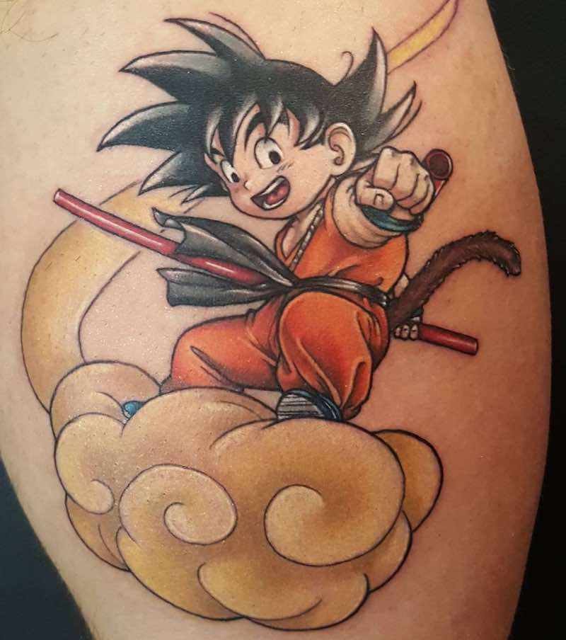 Goku Tattoo by Nicole Willingham