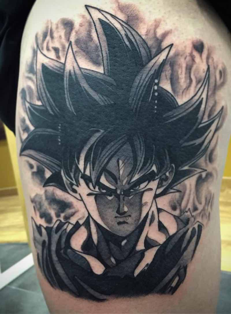 Goku Tattoo by Pablo Ramos Romero
