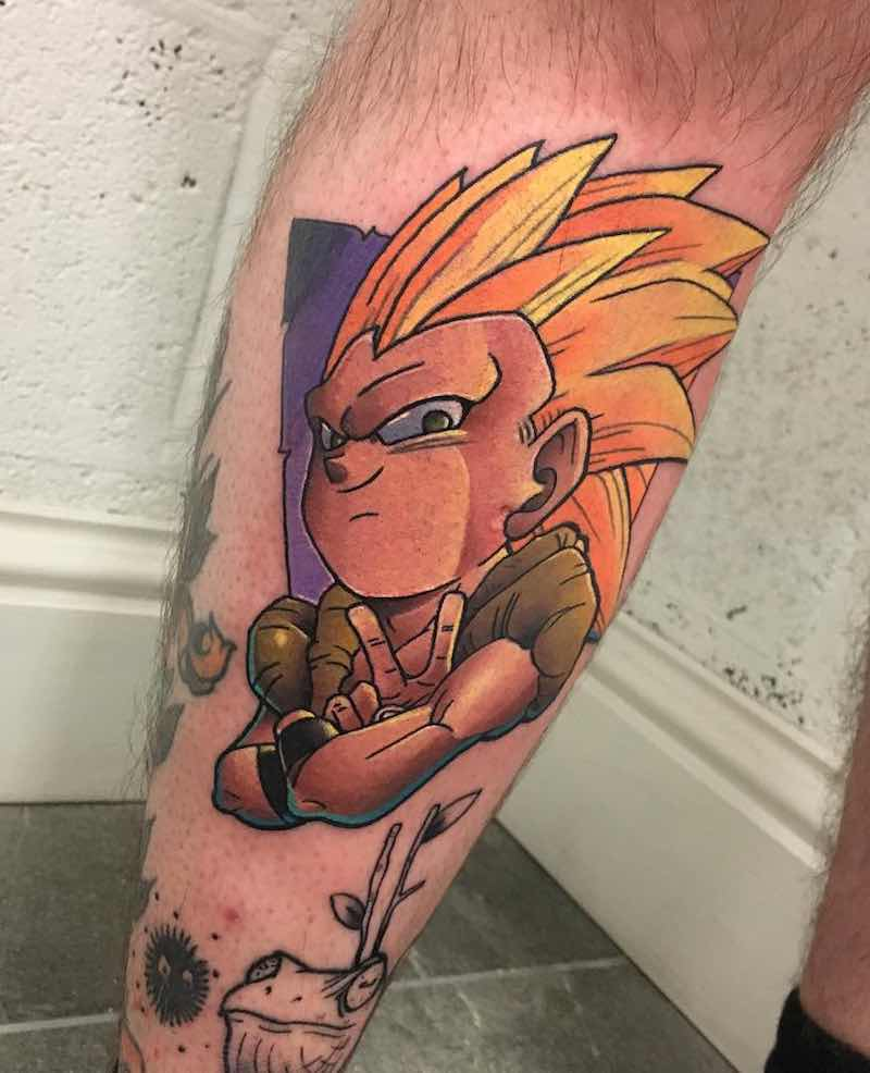 Gotenks Tattoo by Andy Walker