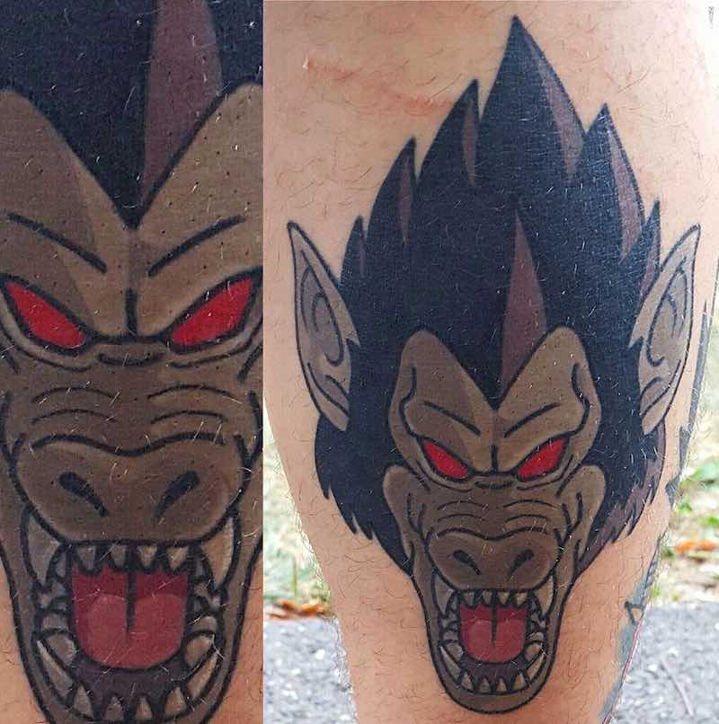 Great Ape Tattoo by Adam Perjatel