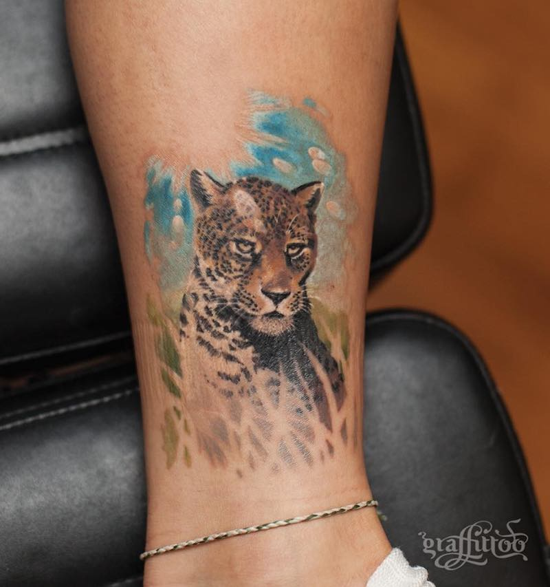 Jaguar Tattoo by Graffittoo