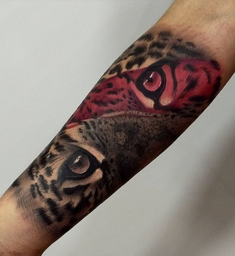 Jaguar Tattoo by Nicolas Rincon