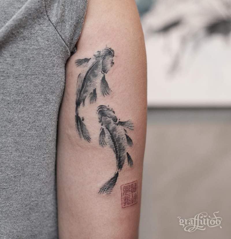Koi Tattoo - Graffittoo
