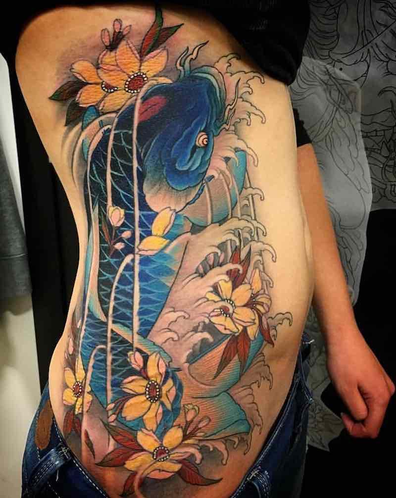 Koi Tattoo by Franco Iasoni