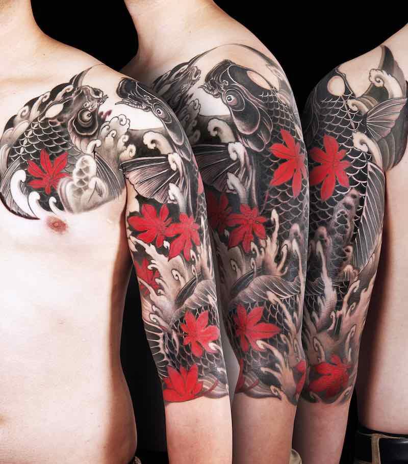 Koi Tattoo by Horiyen