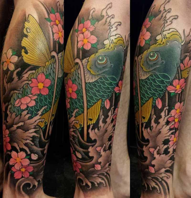 Koi Tattoo by TOMO