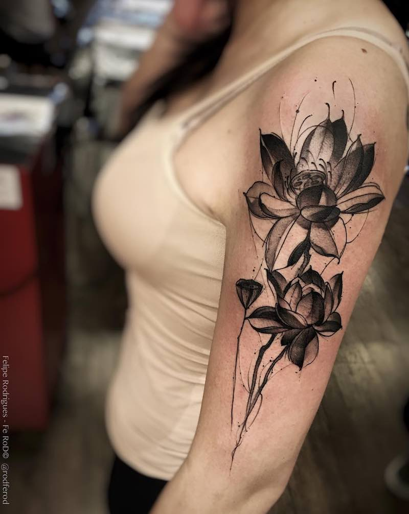 Lotus Tattoo - Felipe Rodrigues