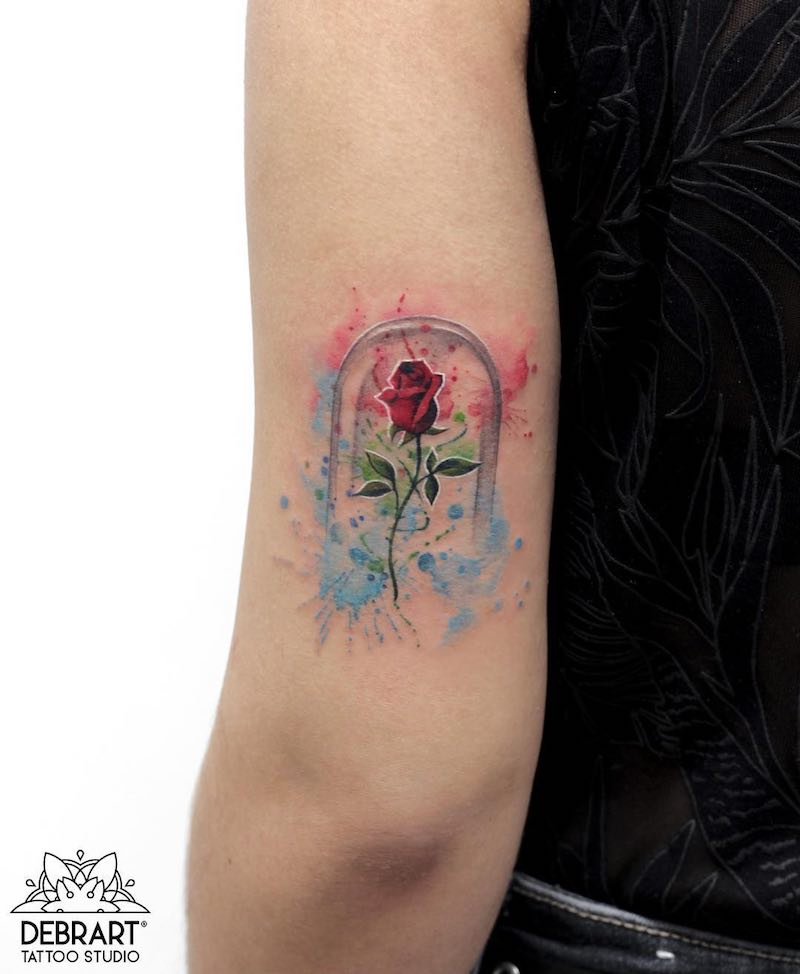 Rose Tattoo by Deborah Genchi