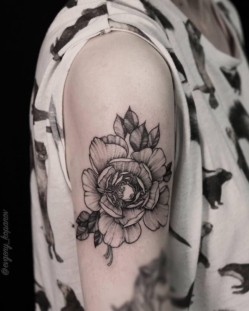Rose Tattoo by Evgeny Kopanov