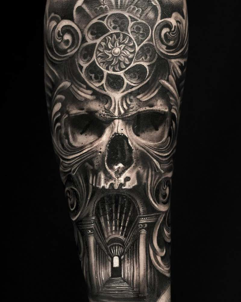 Skull Tattoo - Mumia