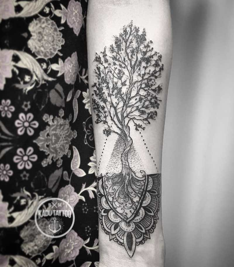 Tree Tattoo Kadu
