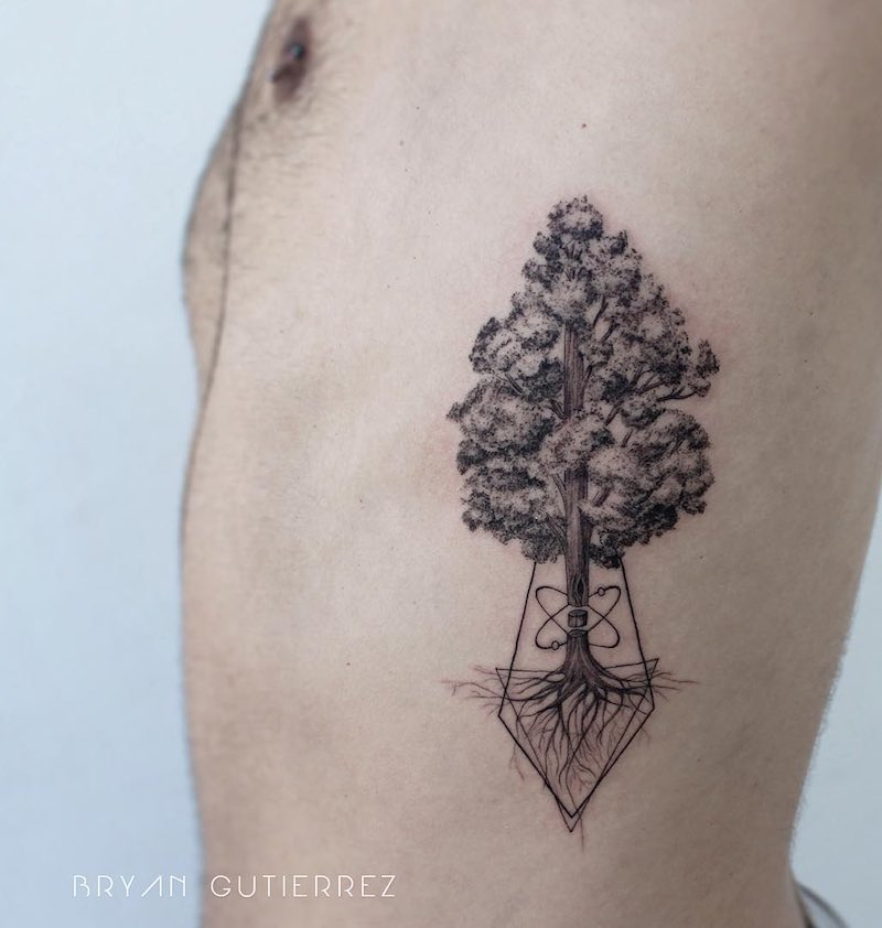 Tree Tattoo by Bryan Gutierrez