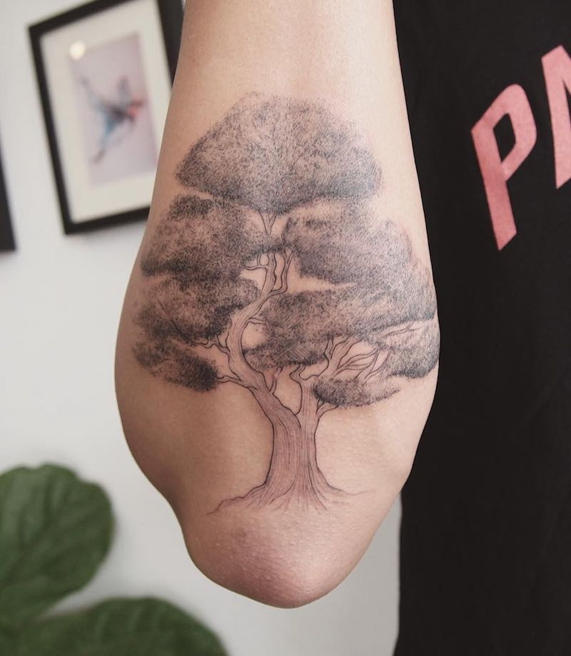 Tree Tattoo by Jess Chen