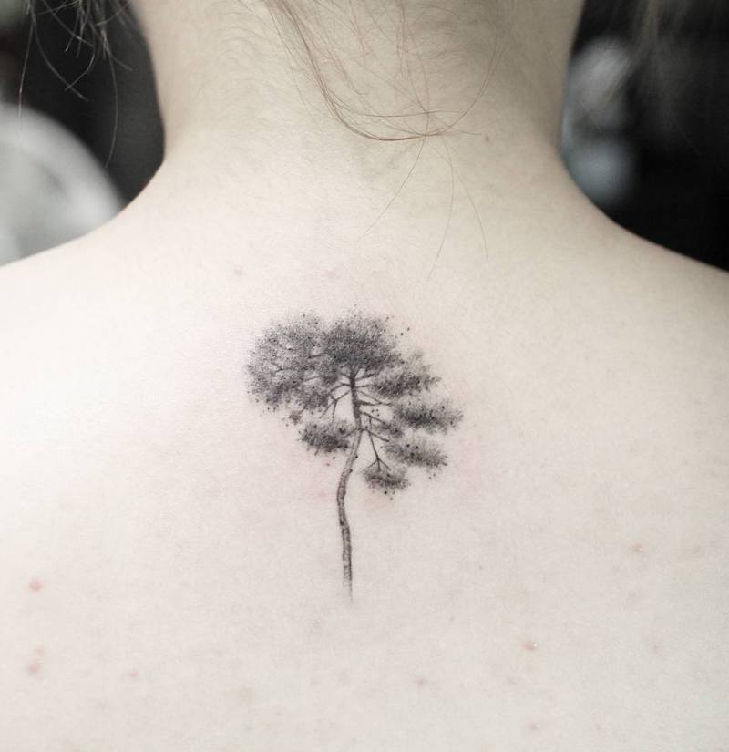 Tree Tattoo by Tattooist Sodam