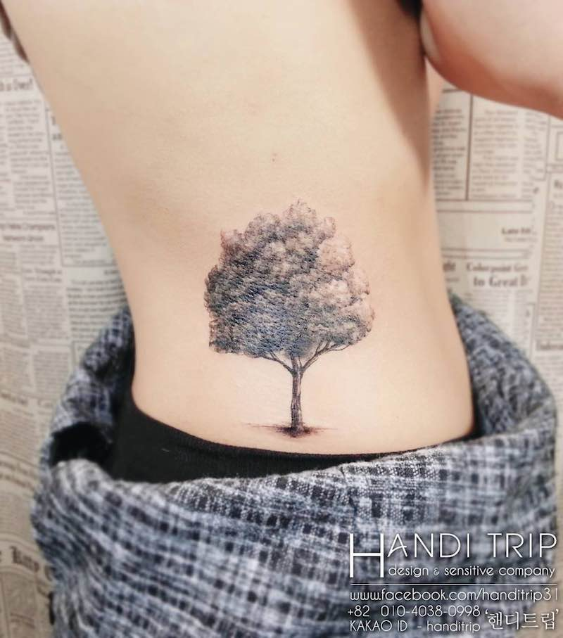 Tree Tattoo by handitrip