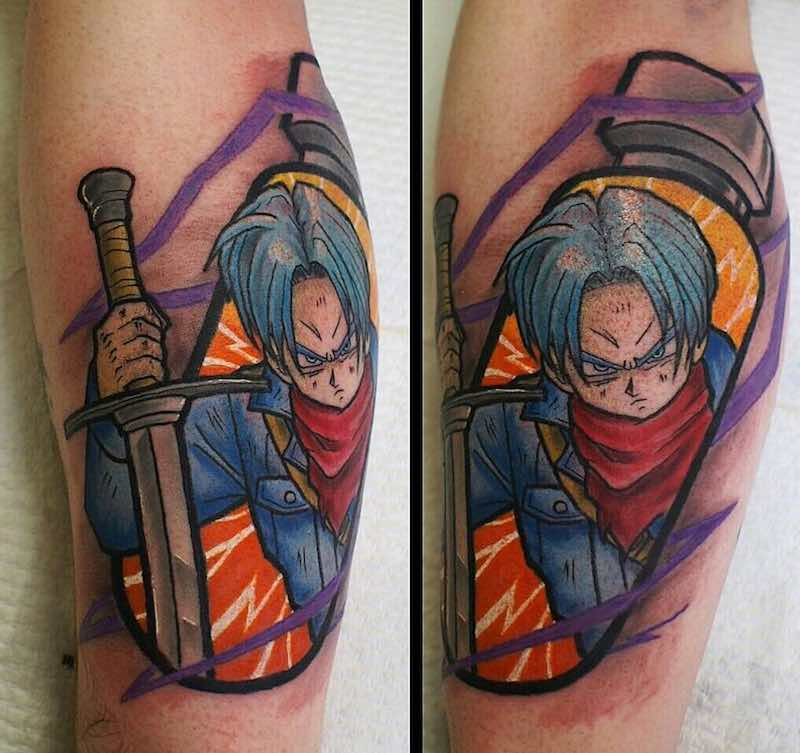 Trunks Tattoo by Godfrey Atlantis -