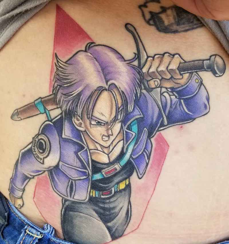 Trunks Tattoo by Nicole Willingham