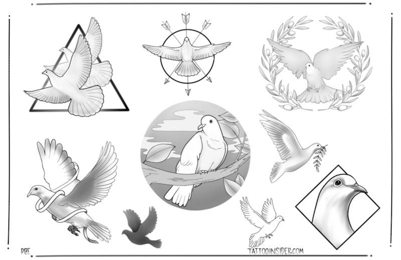 Dove-Tattoo-Designs