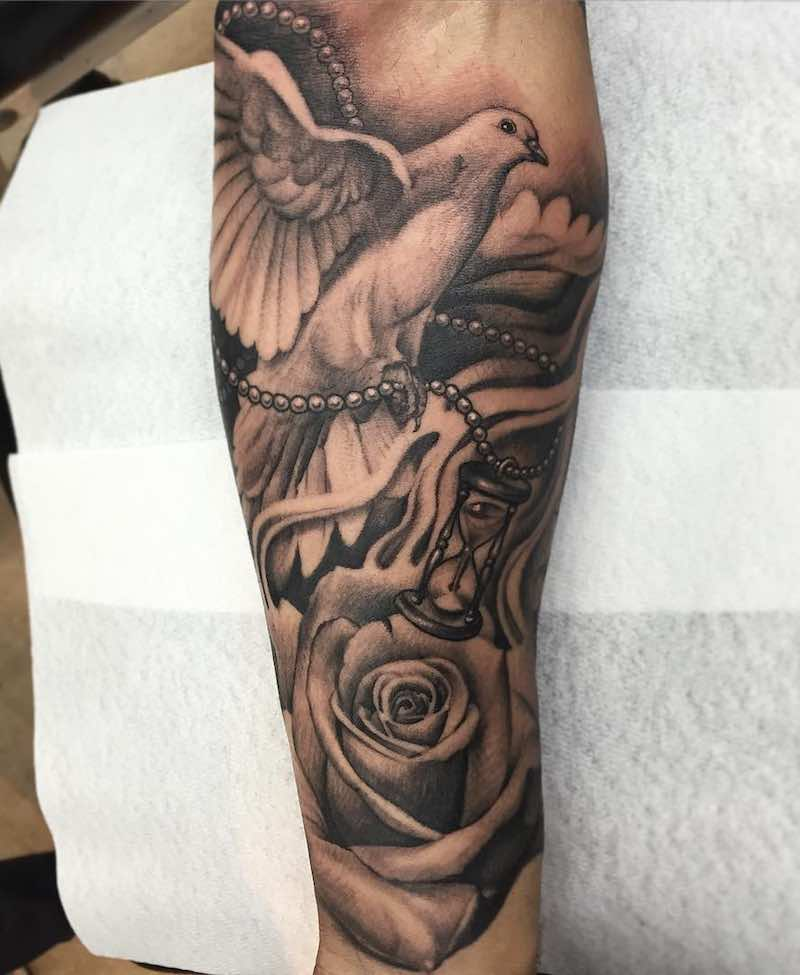 Dove Tattoo by Andy Blanco-