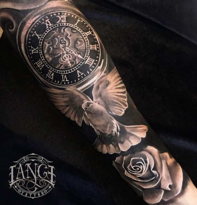 Dove Tattoo by Jorge Lange