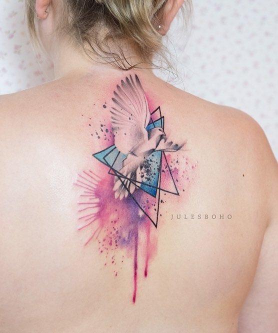 Dove Tattoo by Jules Boho