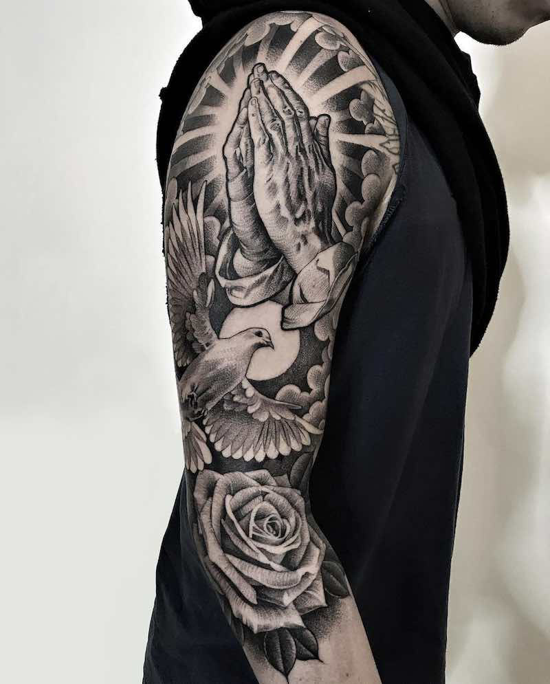 Dove Tattoo by Lil B