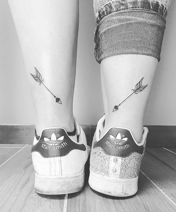 Arrow Simple Tattoos by Ferrarini Serena