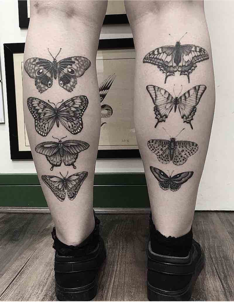 Butterfly Tattoo by Barbara Rebelo