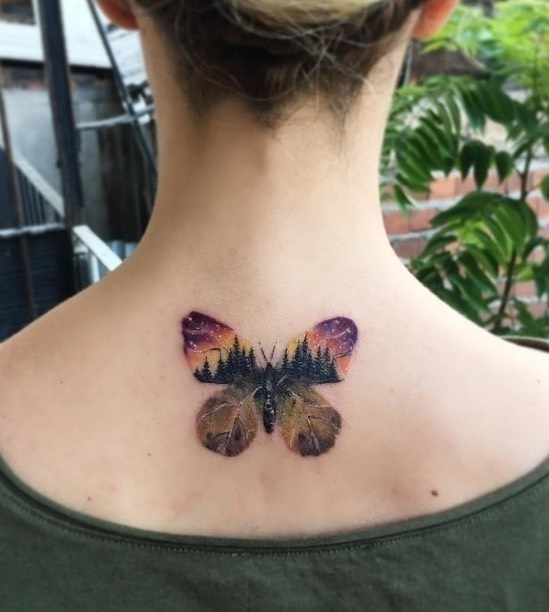 Butterfly Tattoo by Havva Karabudak