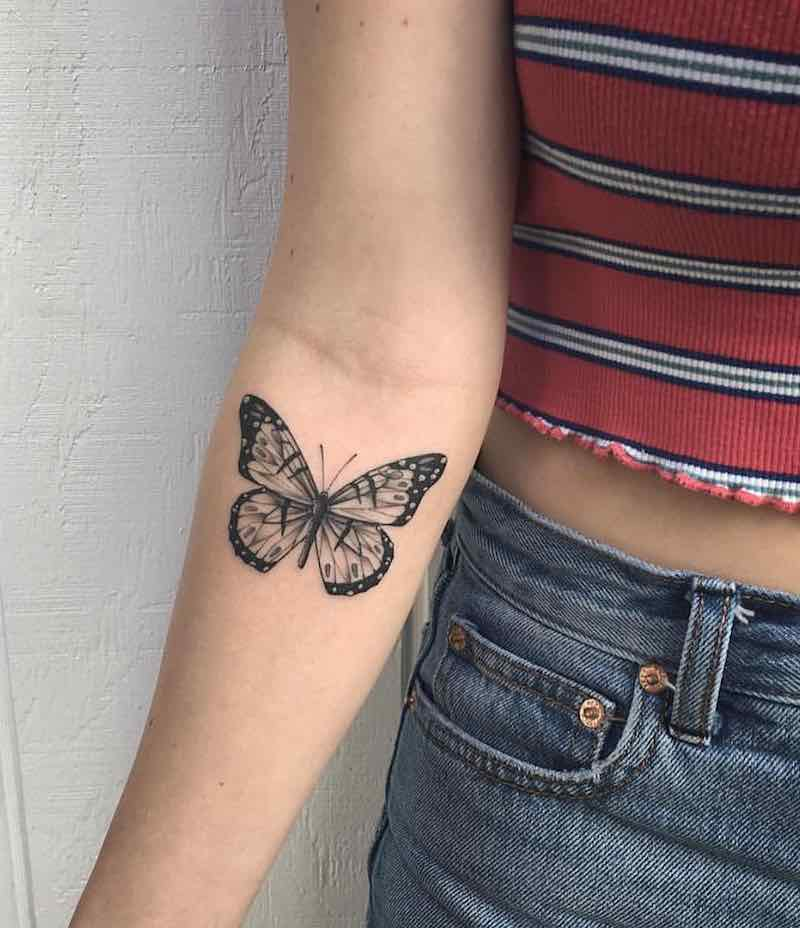 Butterfly Tattoo by Kory
