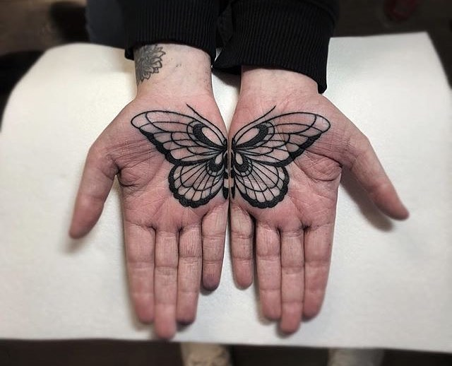 Butterfly Tattoo by Mark Walker