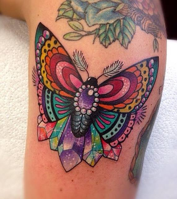 Butterfly Tattoo by Roberto Euan