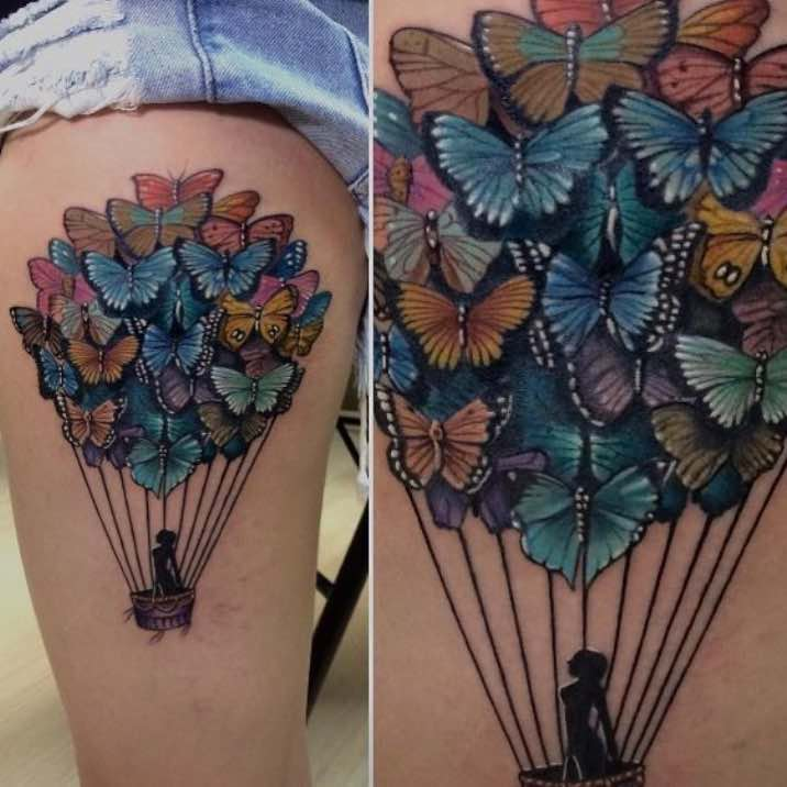 Butterfly Tattoo by Rodrigo Rodrigues