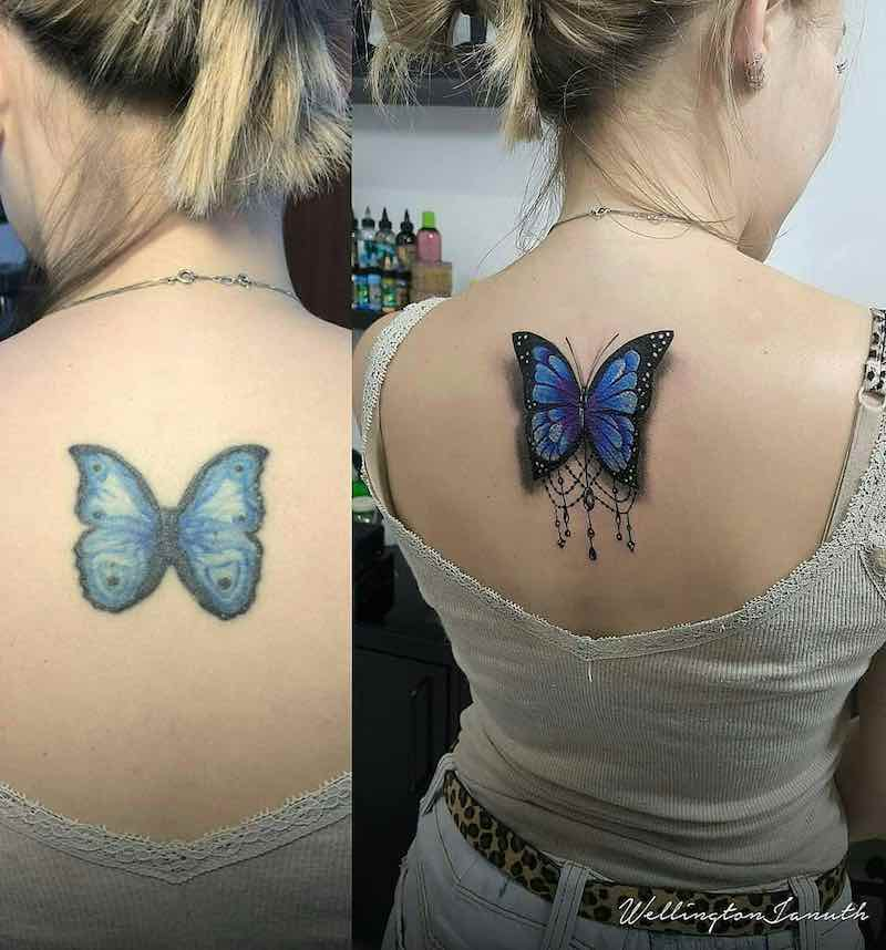 Butterfly Tattoo by Wellington Januth