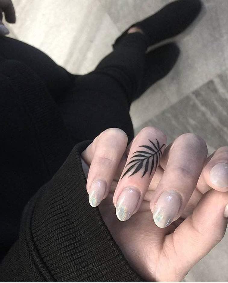 Finger Tattoo by Miki Hoodlover