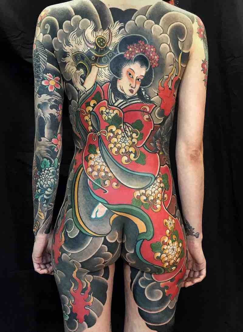 Japanese Tattoo by Hugo HAB