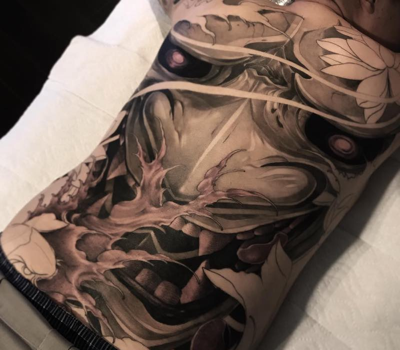 Japanese Tattoo by Wilson Pan