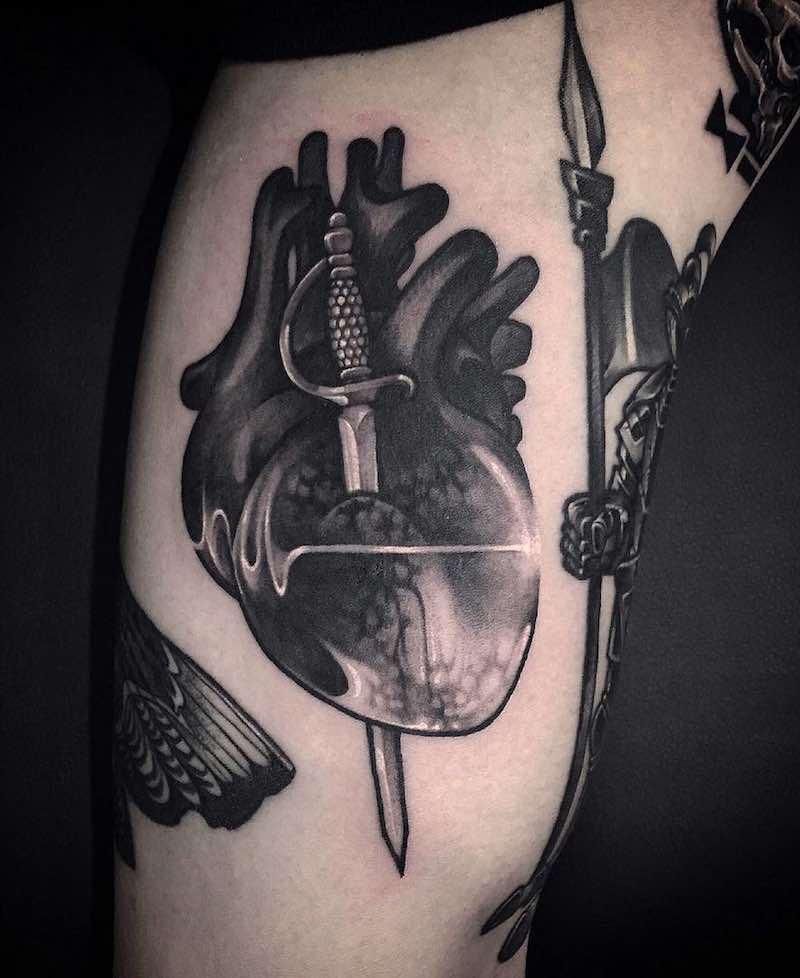 Lifeline Tattoo by Gara