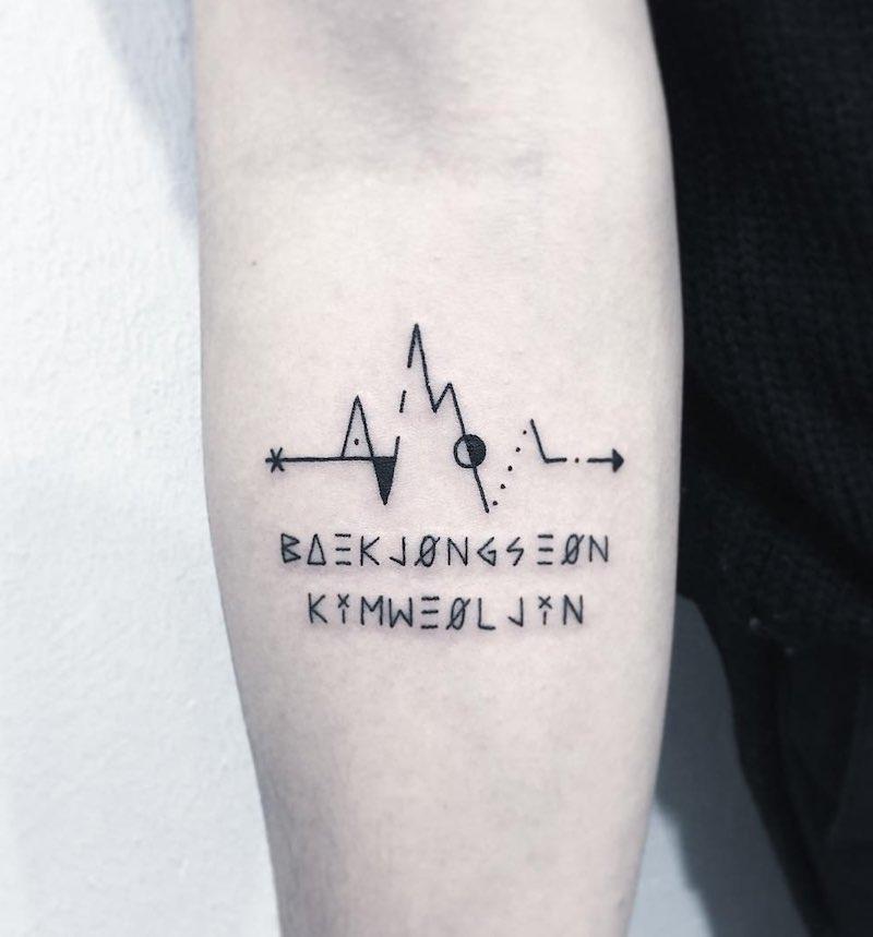 Lifeline Tattoo by Greem