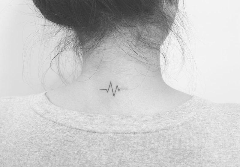Lifeline Tattoo by Tattooist jg