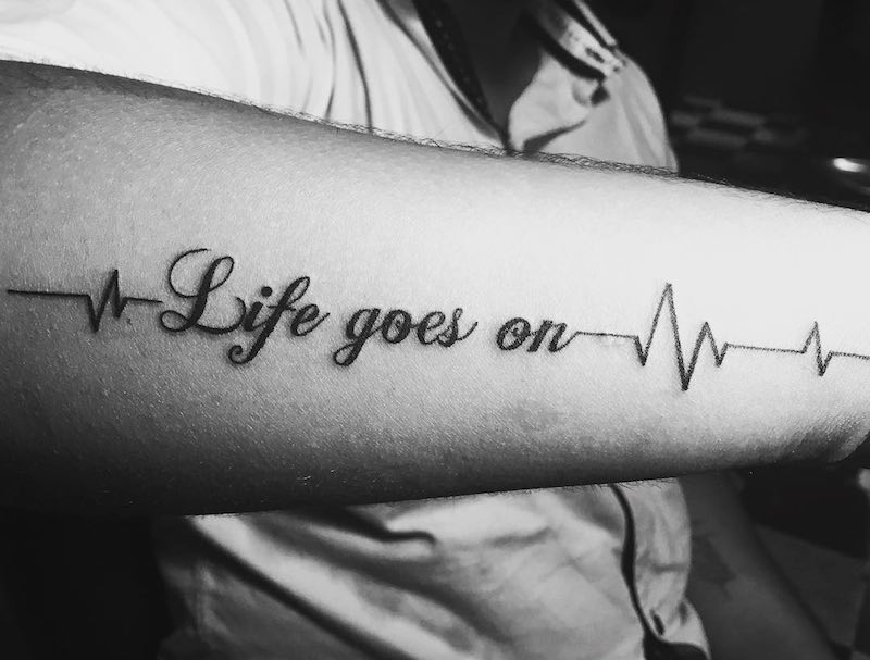 Lifeline Tattoo by Vatsal Desai