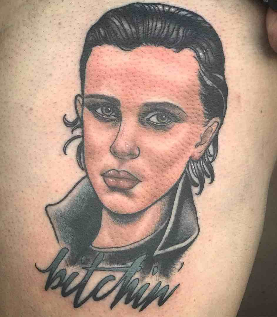 Stranger Things Tattoo by Thea Fear