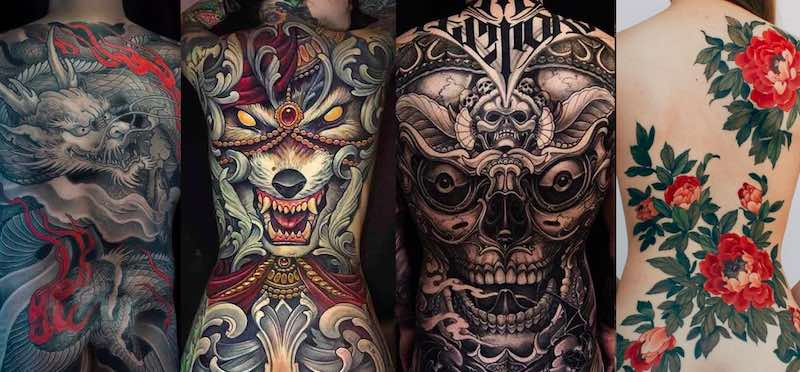68 Best Back Tattoos