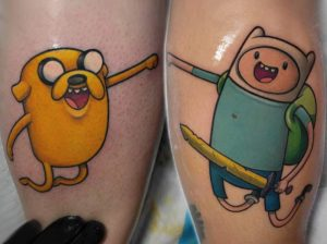 Best Adventure Time Tattoos