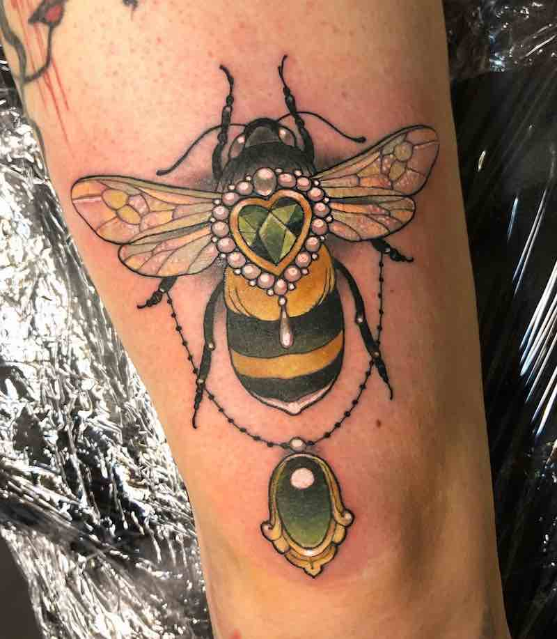 Bee Tattoo 2 by Arielle Gagnon